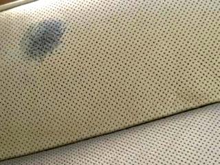 perforowane skórzane siedzenie fotela